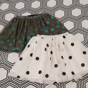 H&M and Cat&Jack Tutu Skirts (2 pieces)